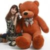 ตุ๊กตาหมีสีน้ำตาลเข้ม1.8เมตร