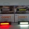 ไฟหน้า/ไฟท้าย COMET ชาร์จ USB 100 Lumens (สีแดง)