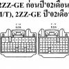 หนังสือ วงจรไฟฟ้า (Wiring Diaram) รถยนต์ TOYOTA COROLLA FIELDER 2000-8 ถึง 2004-4