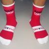 ถุงเท้า Casttelli สีแดง
