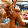 ตุ๊กตาหมีสีน้ำตาลเข้ม1.2เมตร