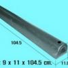 ยางกันกระแทกตัวดี 9x11x104.50 cm