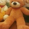 ตุ๊กตาหมีหลับตาสีน้ำตาลอ่อน 1.2 เมตร