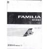 หนังสือ WIRING DIAGRAM MAZDA FAMILIA 98-00