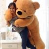 ตุ๊กตาหมีสีน้ำตาลอ่อน1.8เมตร