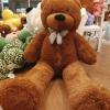ตุ๊กตาหมีสีน้ำตาลเข้ม1.4 เมตร