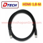 Dtech HDMI 1.4 hi-speed cable M/M 1.8M.