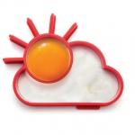 พิมพ์ทำไข่ดาวรูปเมฆ