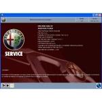 CD โปรแกรมคู่มือซ่อม และ WIRING DIAGRAM ALFA ROMEO 147 (EN)