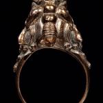 แหวนปี่เซียะเรียกทรัพย์ เนื้อนวะโลหะ รุ่นมหาโชค โภคทรัพย์