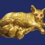 หนูกินนมแมวปัดทอง ครูบาพร วัดปู่ฮ้อ