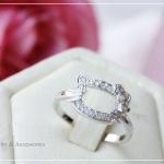 แหวนคิตตี้หุ้มทองคำขาวแท้