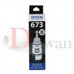 น้ำหมึกเติม EPSON ของแท้ สำหรับ L800,L805,L850,L1800 รหัส T6731 สี BK