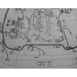 หนังสือ WIRING DIAGRAM รถยนต์ NISSAN CAFIRO เครื่องยนต์ RB20DE,RB20E (JP)