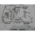 หนังสือ วงจรไฟฟ้า Wiring Diagram เครื่องยนต์ Nissan SR20DE, SR20DET S14 (ญี่ปุ่น)