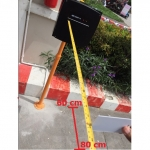 ไม้กั้นรถยนต์ระบบทาบบัตร ระยะ 60-80 เซ็นติเมตร