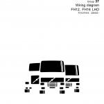หนังสือ วงจรไฟฟ้า Wiring diagram Trucks Group 37 FH12, FH16 LHD (วงจรไฟฟ้า วงจรไฮดรอลิกส์)