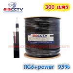 BIGCCTV RG6+power 95% 300M