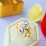 แหวน infinity ring หุ้มทองคำแท้