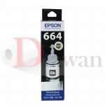 น้ำหมึกเติม EPSON ของแท้ สำหรับ L110,L210,L350,L550,L555,L1300 รหัส T6641 สี BK