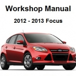 CD คู่มือซ่อม WIRING DIAGRAM All New Ford Focus 2012-2013
