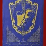 ผ้ายันต์ธงชัยนวหรคุณ สัญลักษณ์แห่งชัยชนะ (เจ้าคุณธงชัย) วัดไตรมิตรวิทยาราม