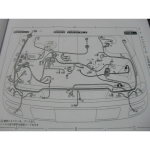 หนังสือ WIRING DIAGRAM NISSAN BLUEBIRD ปี 98