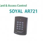 แนะนำเครื่องทาบบัตร Soyal AR721