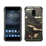 เคส Nokia 6 ลายพรางทหาร NX CASE