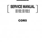 หนังสือ คู่มือซ่อม วงจรไฟฟ้า วงจรไฮดรอลิก (ทั้งคัน) KATO SR-300L , SR-300LS , SR-700L , SR-700LS (EN)