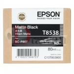 ตลับหมึกสำหรับ EPSON P807 รหัส T8538 สี MATTE BLACK