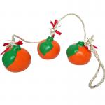 โมบายเส้น(เซรามิก) ส้ม(3ลูก)