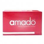 Amado อมาโด้ กล่องสีชมพู อาหารเสริมสำหรับผู้หญิง สวยจากภายในสู่ภายนอก