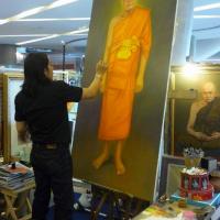 ร้านรับวาดรูปเหมือน รับวาดภาพเหมือนพระ รับวาดภาพลายไทย รับวาดภาพเหมือน ขายภาพวาด รับวาดภาพจิตรกรรมไทย