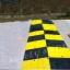 ยางชะลอความเร็ว แบบใหญ่ สีเหลืองดำ 50x50x6 cm thumbnail 4
