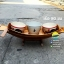 เรือสำปั้น 80 ซม ไม้สักทอง พร้อมขาตั้ง ไม้พาย (ส่งฟรีทั่วประเทศ) แถมป้ายมงคล thumbnail 2