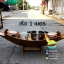 เรือสำปั้น 100 ซม ไม้สักทอง พร้อมขาตั้ง ไม้พาย แถมป้ายมงคล (ส่งฟรีทั่วประเทศ) thumbnail 2