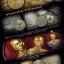 เหรียญวิรุฬจำบัง จิ๊กโก๋เมืองสมุทร(จิ๊กโก๋เล็ก) เนื้ออัลปาก้าหน้ากากกาหลั่ยทองคำ thumbnail 3