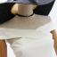 เดรสสีขาว ผ้ายืดหยุ่นได้ดีมากก ผ้าหนางานทิ้งตัวมีน้ำหนักสวยยยเลยค่ะตัวนี้ สไตล์ไขว้ปาดไหล่ ซิปหลัง งานน่ารักๆ ไมโป๊และแอบหวานเซกซี่จ้า thumbnail 4