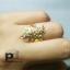 แหวนใบมะกอก พลอยนพเก้า thumbnail 2