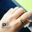 แหวนพูนทรัพย์พลอยนพเก้า หุ้มทองคำแท้ thumbnail 3