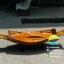 เรือสำปั้น 100 ซม ไม้สักทอง มีแท่นรองตู้ พร้อมขาตั้ง ไม้พาย แถมป้ายมงคล (ส่งฟรีทั่วประเทศ) thumbnail 5