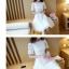 เดรสสีขาว ผ้าลูกไม้ลายหว๊านหวานนนเลยค่ะ เรียบร้อยดูดีมาก ซิปซ่อน ซับในพร้อม thumbnail 5