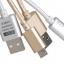 สายชาร์จ GOLF แบบถักอย่างดี Micro USB สำหรับมือถือสมาร์ทโฟนทั่วไป thumbnail 1