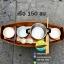 เรือสำปั้น 150 ซม ไม้สักทอง พร้อมขาตั้ง ไม้พาย แถมป้ายมงคล สีสักทอง (ส่งฟรีทั่วประเทศ) thumbnail 4