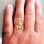 แหวนใบมะกอก พลอยนพเก้า thumbnail 3