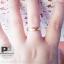 แหวนพูนทรัพย์พลอยนพเก้า หุ้มทองคำขาวแท้ thumbnail 5