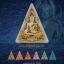 พระพุทธชินราช เนื้อผงพุทธคุณปิดทอง (ระบุสี) หลวงปู่เณรแก้ว คัมภีโร thumbnail 5