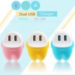 ที่ชาร์จ REMAX 2 USB EVA CHARGER