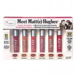 The Balm Meet Matte Hughes (Exclusive New Shades) 6 Mini Long-Lasting Liquid Lipsticks